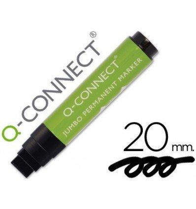 Q-Connect - Rotulador postermarker negro