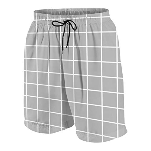 Baphomet Flag Mens Beach Shorts Casual Shorts Swim Trunks