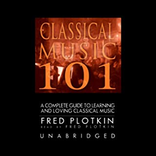 Classical Music 101 audiobook cover art