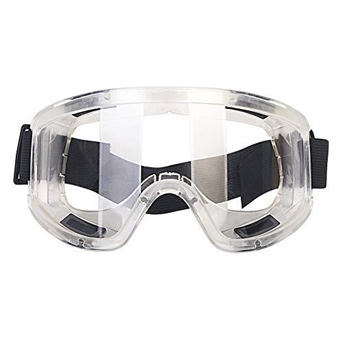 Pannow veiligheidsbril, skibril, winddichte spiegel, zand-proof, stofdicht, anti-plash veiligheidsbril, arbeidsverzekering, bril. Veiligheidsbril Kleur: wit
