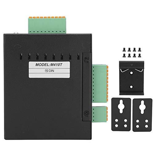 Dioche Adquisición de Datos de módulos de E/S remotas Ethernet Industrial M410T Universal, Puerto Ethernet TCP + RS485 + 16DIN