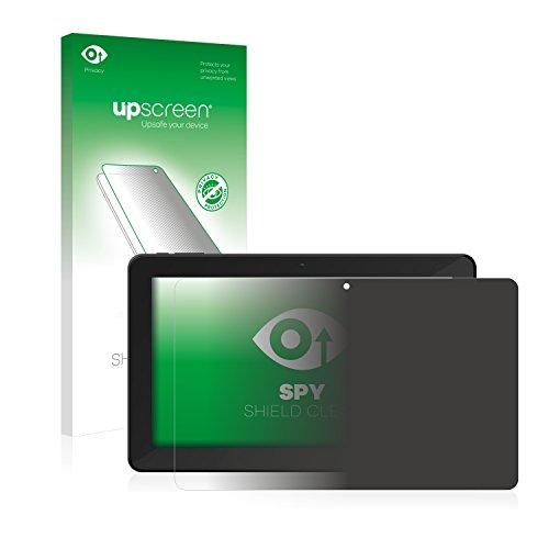 upscreen Anti-Spy Blickschutzfolie kompatibel mit TrekStor SurfTab xintron i 10.1 3G Privacy Screen Sichtschutz Bildschirmschutz-Folie