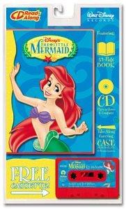 Disney's The Little Mermaid Read-Along w/Enhanced CD, 32 Page Book & Cassette