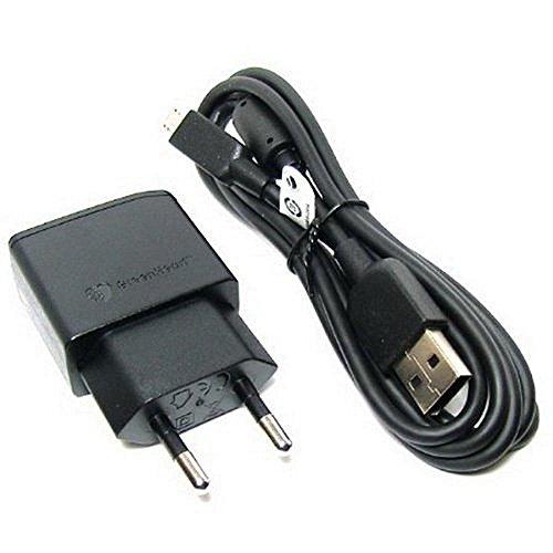Original Negro 850 mAh Sony Micro USB 2 Pines Cargador de Red Empaquetado a...