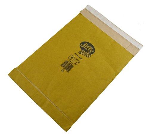 Jiffy Gepolsterte Versandtaschen für DVDs (Größe 3, 195 x 343 mm) 100 Stück