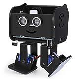 Elegoo Penguin Bot Biped Robot Kit per Progetto Arduino con Tutorial di Montaggio, Kit STEM per Hobbisti STEM Giocattoli per Bambini e Adulti, Versione Nero V2.0.