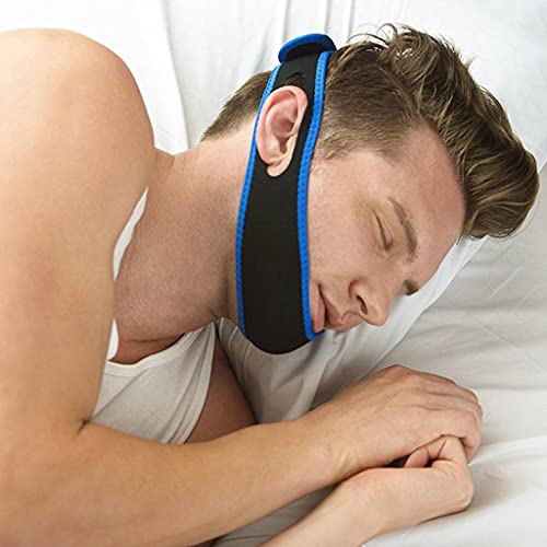 Anti Snoring Chin Strap, Comfortable Natural Snoring Solution Snore...