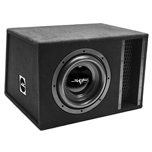 "Skar Audio Single 10"" 2000W Loaded EVL Series Vented Subwoofer Enclosure 
