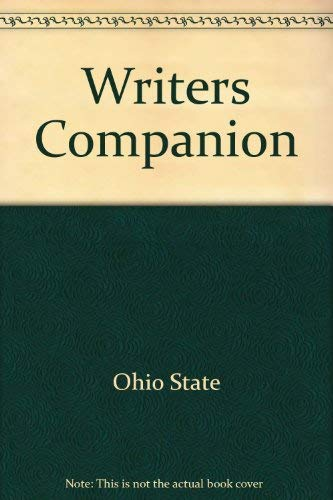 The Writer's Companion: A Guide to First-Year Writing