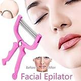 Digital Shoppy 1 Pc Facial Hair Epilator Hair Removal Device Plastic Resin Stainless