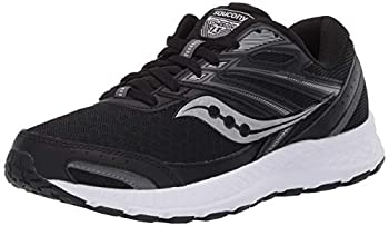 Saucony Women s Cohesion 13 Walking Shoe Black/White 9 M US