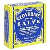 White Cloverine Salve White Petrolatum Skin Protectant, 1 oz - Pack of 1 -  Rosebud Perfume Co.