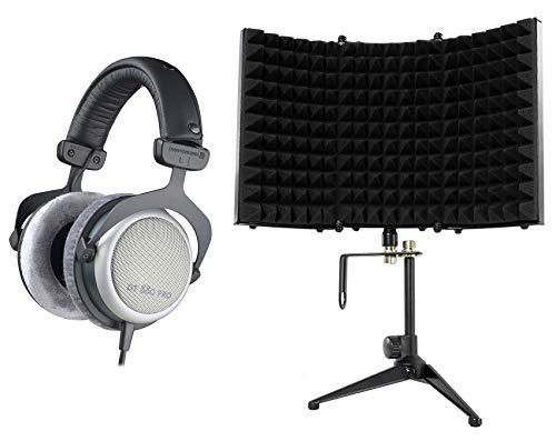 Beyerdynamic DT-880-PRO-250 Studio Reference Monitor Headphones+Isolation Shield