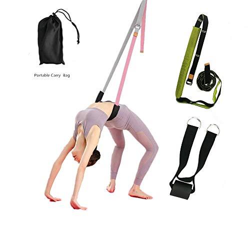 JIMACRO Yogagurt, Flexibilität Stretch Strap Yoga Gurt Back Bend Assist Trainer zur Verbesserung der Bein- und Rückenflexibilität für Yoga,...