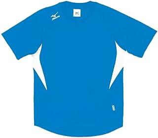 MIZUNO(ミズノ) ゲームシャツ (ドッジボール)その他スポーツ ドッジボール (A62HY144) 18D.サックス×ホワイト