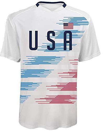 OnTheField Custom Men's USA Soccer Jersey (X-Large) White
