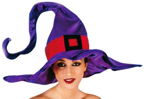 Rio - 8122 - Déguisement - Chapeau de Sorcière Taille Unique - Violet
