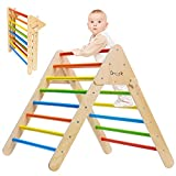 Pikler Triangle - Wooden Climbing...