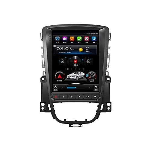 yanzz Android 10.0 Car Radio Stereo Double DIN para Buick Excelle/Opel Astra J 2010-2014 Unidad Principal Navegación GPS Reproductor Multimedia MP5 con Bluetooth SWC WiFi 4G Receptor FM