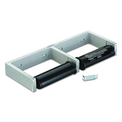 Bobrick 2740 ClassicSeries Toilet Tissue Dispenser for Two Rolls, 12 1/2