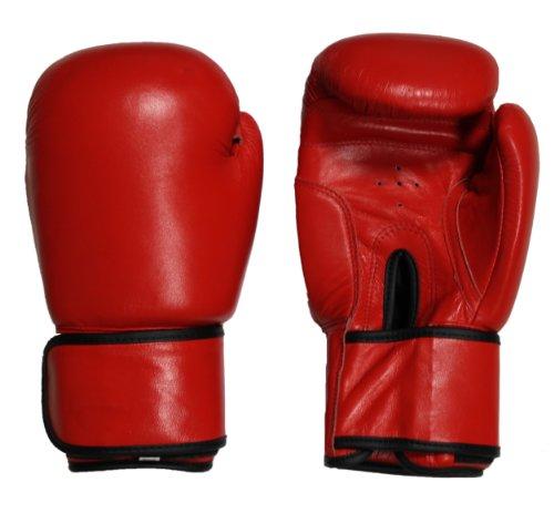 Lisaro Kinder Boxhandschuhe Farbe rot Gr.6 Unzen/Boxhandschuhe Kid