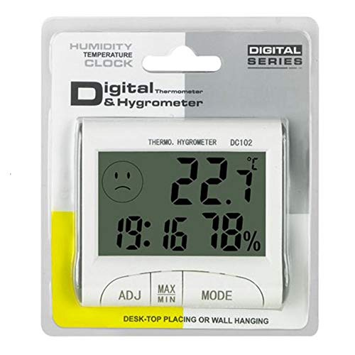 Best Deals! Mini Digital Weather Thermometer Hygrometer Humidity Meter Home Room Temperature Meter I...