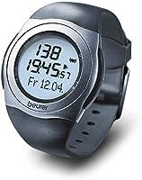 Beurer PM25 - Pulsómetro con Correa Pectoral, Sumergible 30 m, medidor ritmo cardíaco, ajuste de niveles de...