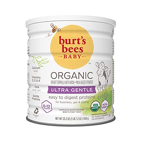 Burt's Bees Baby Organic Ultra Gentle Infant Formula with Iron