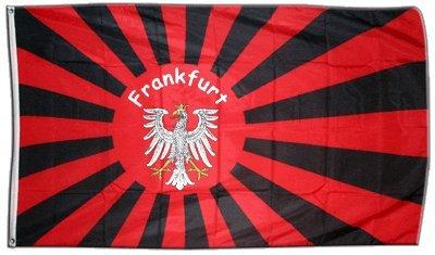 Flagge Fanflagge Frankfurt - 90 x 150 cm