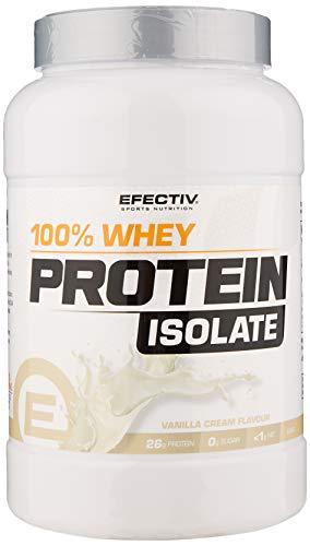 Efectiv Sports Nutrition Whey Protein Isolate, 908 g, Vanilla