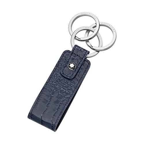 Montblanc Meisterstück Selection Schlüssel-AH Key Fob Schlüsselanhänger, Indigo