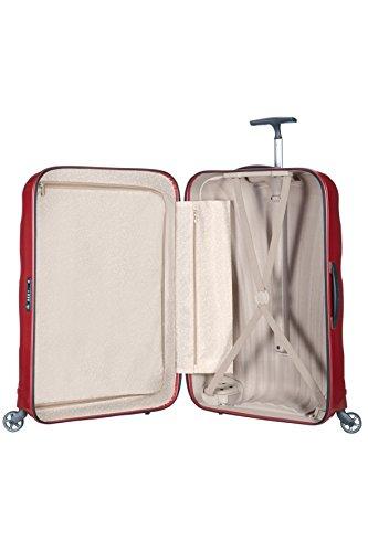 [サムソナイト]スーツケースキャリーケースコスモライトスピナー69保証付68L69cm2.3kgレッド