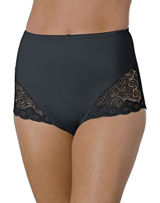 Bali Women's Brief With Lace Firm Control 2-Pack