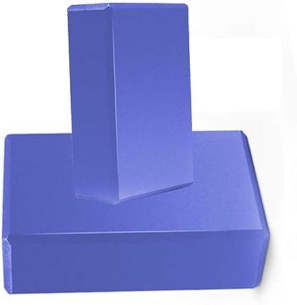 Equipo de la Aptitud Conjunto de 2 Bloques de Yoga Material de protección Ambiental de EVA Ejercicio físico Baile Yoga Ladrillo - Elija su Color Entrenamiento Deportivo