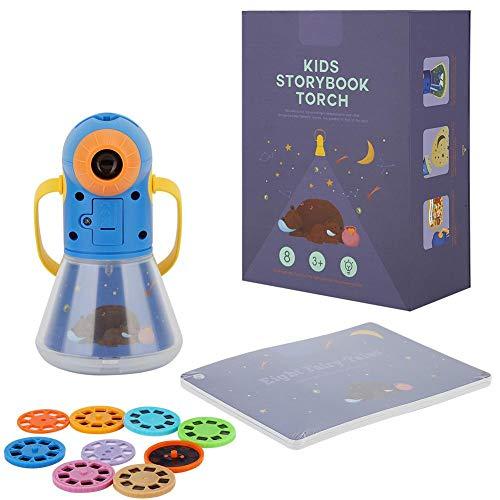 Juguete proyector multifunción tres en uno con libro de cuentos Niños Proyector...