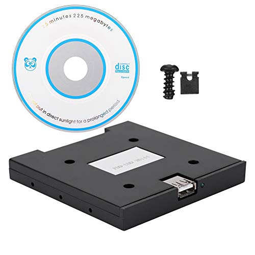 USB Floppy Emulator, 1.44MB USB SSD Floppy Drive Emulator, Floppy & Tape Drives + CD...