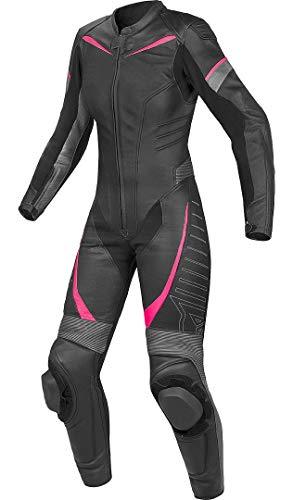 Corso Fashion Damen Motorrad Lederkombi - Motorrad Rennsport Schutzkleidung Bikerausrüstung - Maßanfertigung Style249