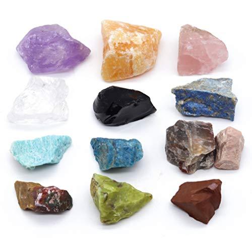 Großes Edelsteine Set (gemischt) 300g | Heilsteine | Edelstein Trinkwasser | Wassersteine | Grundmischung | Kristalle | Mineralsteine | Energetisieren (All-in-One (XXL))