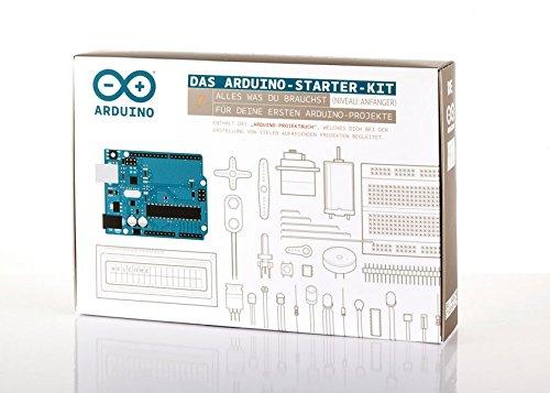Das Arduino-Starter-Kit: Alles, was du für diene ersten Arduino-Projekte brauchst | inkl. Arduino UNO Platine | Niveau Anfänger, deutschsprachig Deutsch