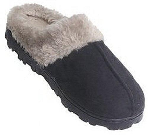 Easy Boots Damen LYSB0093OGSQE-WMNFSHSHOE Lammfell, Slipper, Coquette Medium 37/38 EU