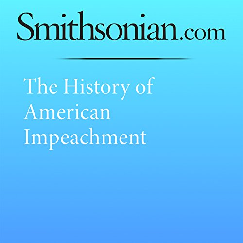 The History of American Impeachment  By  cover art