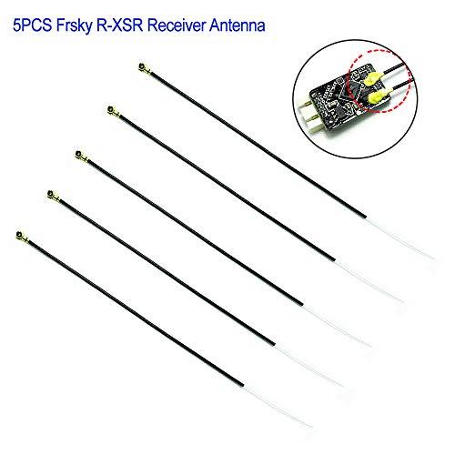 PinBoTronix 5PCs FrSky Ricevitore Antenna IPEX 4 Port Generazione 2400~95 millimetri 2480MHz per FrSky R-XSR Ricevitore