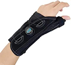 Thumb and Wrist Spica Splint with Advanced BOA Technology Brace for Arthritis,Tendonitis, Carpal Tunnel Syndrome Pain Relief(Left/Size M/L)