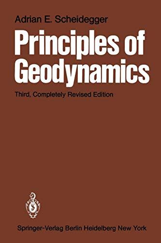 Principles of Geodynamics