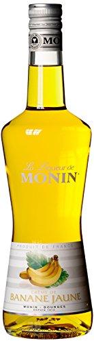 Monin Creme DE Banane  Jaune  Bananen-Likör (1 x 0.7 l)