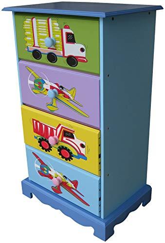 Liberty House Toys 4 tiroirs Meuble de Rangement Transport