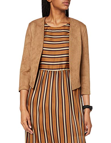 comma Damen 85.899.54.1081 Blazer, 8477 Camel, 42