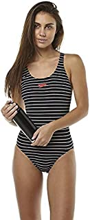 Speedo Women's Limitless Leaderback One Piece Quick-Dry Soft Black