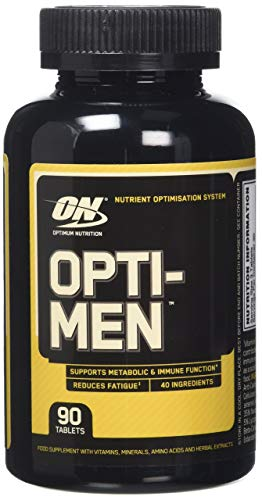 Optimum Nutrition Opti-Men Multivitamin Tablets Pack of 90 (Packaging May Vary)