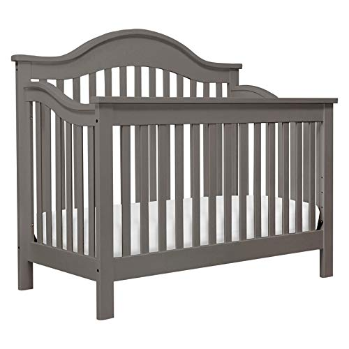 DaVinci Jayden 4-in-1 Convertible Crib in Slate | Greenguard Gold Certified